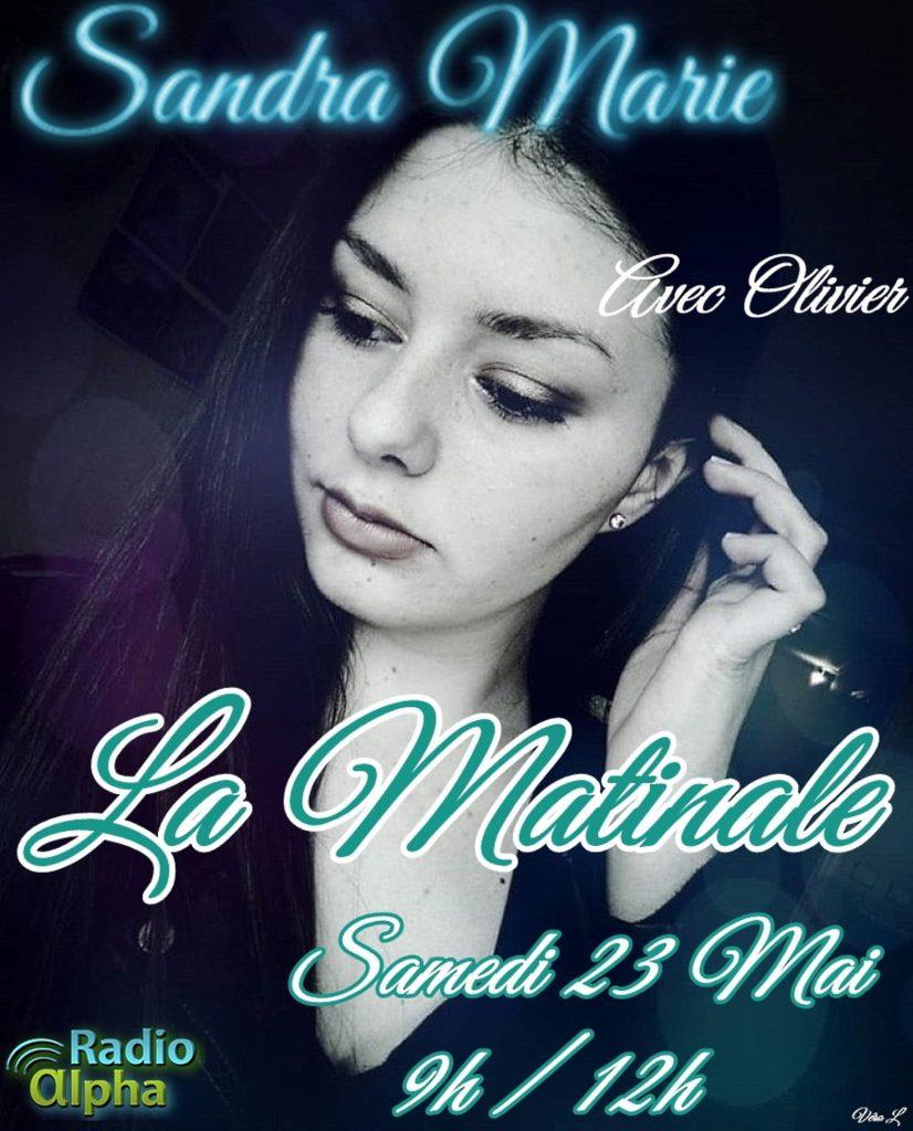 Sandra-Marie-la-matinale-samedi-23-Mai-2020